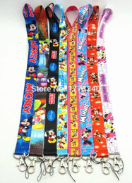 Wholesale Minnie Mouse phone lanyard for Key Phone straps Keychain Lanyard straps