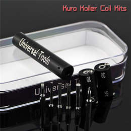 Kuro Koiler Universal Tools 6 in 1 Kit Coil Jig Coiler Winding Coiling Builder Heating Wire Tool 7 Colors For DIY RDA DHL