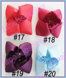 Wholesale Newests ABC hair bows Boutique hair bows Girl ABC hair clips
