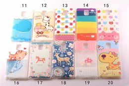 Wholesale Printed Cartoon Animal Case Cover For Samsung Galaxy Note N9100 Painted Print Flowers Hard PC Cases Note4 Whale Colorful Day Lace Skin