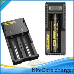 Wholesale Original Nitecore charger D4 i2 i4 UM10 UM20 UGP3 Universal Intellicharger Charger for Battery E Cigarette charger