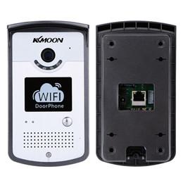 Wholesale KKMOON WIFI Video Doorbell MP Network Home Doorphone Wireless Visual Phone Control Outdoor Indoor Door Bell with Camera order lt no tra