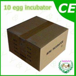 Wholesale Hot sale automatic mini egg incubator poultry brooder JANOEL10