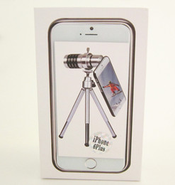 Wholesale-New arrival 5.5 inch smart phone telephoto lens Mobile Phone 12X zoom external use lens for plus