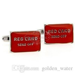 Spot cufflinks mixed batch of red English words cufflinks AE0668 Epoxy Technology FREE SHIPPING Wholesale high quality low price
