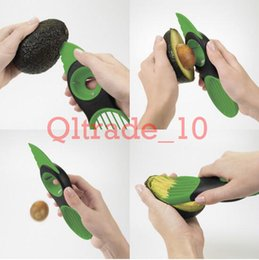 Wholesale 100PCS HHA317 Hot Sell OXO Good Grips In Avocado Slicer Papaya Kiwi Avo Peeler Picker Corer
