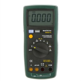 Wholesale MASTECH MS8215 Auto Range Digital Multimeter DMM AC DC Voltmeter Ammeter Ohmmeter Capacitor Tester Megohmmeter Multimetro