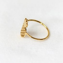 30PCS- Gold Silver Cute Pineapple Rings Lovely Ananas Rings Simple Funny Outline Fruit Rings for Women Ladies Party Gifts