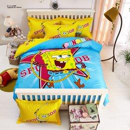 Wholesale Cartoon Kids Cotton Bedding Set Children Queen Size Bed Set Vaious Patterns Duvet Cover Bed lines Sheet Pillow Sham Winnie Pooh Kitty
