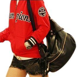 Wholesale-New Fashion Women Handbag Tote Bags PU Leather Handbags Women Messenger Bags Crossbody Shoulder Bags Tote Purse SY-60