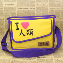 Wholesale-Hot cosplay accessory No game no life bags anime cartoon girls single shoulder daily bag