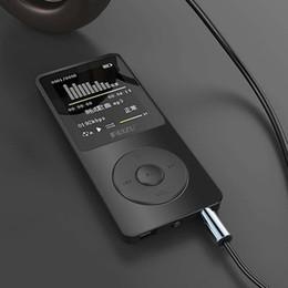 Wholesale 1 quot TFT Screen Black Blue RuiZu X02 HiFi G Reproductor Sport Music Mp3 Player FM Recorder