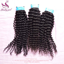 Peruvian Curly Virgin Hair Bundles Unprocessed Peruvian Deep Wave Curly Human Hair Weaving Natural Color Dyeable Cheap Remy Hair Extensions