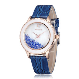 New Arrival Fashion Leather Watches Strap Wrist Watches Christmas Gift For Women Skone Brand Dress Watches