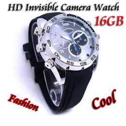 Wholesale HD P Build in GB GB Waterproof spy watch Hidden Watch Camera with IR Night Vision Video Recorder