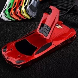 Wholesale Cool Apple Skins - For iphone 6 6G 4.7 inch Racing Sport Car Cool Hard plastic Brand Case tire tyre Stand Holder Holster Kickstand skin cover cases