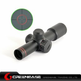 Wholesale 4 x20 Tactical RED Mil Dot Sight Scope Mount flip up covers A type Rifle Scope NGA0383
