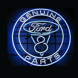 Wholesale FOR GENUINE FORD PARTS neon sign store display beer bar Real quot quot