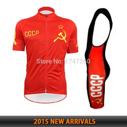Wholesale-BIKE ropa ciclismo cccp cycling jersey shortsleeve bib shorts kit  quick dry fabric new arrival new stylish men MTB fitness wear