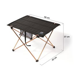Wholesale Aluminium Alloy Ultra light Portable Folding Table Foldable Picnic Desk for Outdoor Camping g order lt no track