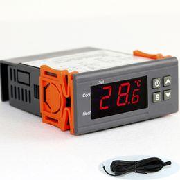 Wholesale 220v or v Temperature Controller Thermostat Aquarium Incubator Cooler Cold Chain Temp Meter