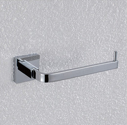Free Shipping Bathroom Accessories Products Solid Brass Chrome Toilet Paper Holder,Roll Holder,Tissue Holder Without WB1