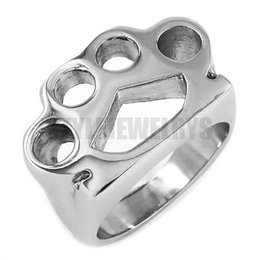 Free shipping! Silver Boxing Glove Ring Stainless Steel Jewelry New Design Fashion Motor Biker Ring Classic Men Women Ring SWR0416