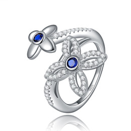 Wholesale ORSA Jewelry Popular Series Ring Silver Special Design Trendy Rings For Women Fashion Ring OR45