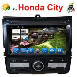 Double din touch screen car stereo for Honda City car multimedia player with GPS Navi automotivo Android headrest car dvd player