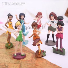 Wholesale Tinker Bell Fairies Toys PVC Action Figures Dolls Gifts for Children Kids Toys set DSFG204