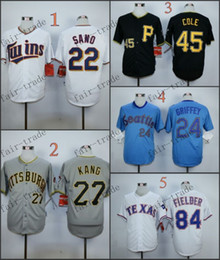 Wholesale Minnesota Twins Miguel Sano gerrit cole Baseball Jersey Cheap Rugby Jerseys Authentic Stitched Size