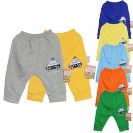 Wholesale New Fashion Popular Little Car baby boys girls Unique Clothes Harem Pants Trousers Cartoon
