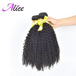 Wholesale 7A products Peruvian kinky curly virgin hair Beat Quality Peruvian virgin hair weave peruvian curly hair extension alice queen hair