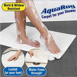 Wholesale Non Slip AquaRug Carpet Aqua Rugs Mat For Shower Bath Water Area Bathroom Safe With Logo Packing