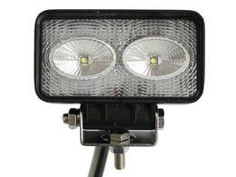 20W LED work light Flood Spot LED Light Black OffRoad Driving Fog 1700LM Work For ATV Boat Truck Jeep Sierra IP67