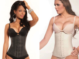 Wholesale Thicken style Faja Deportiva Ann Chery Waist Training Cincher Corset Shaper rubber lady sexy corset latex shapers bodysuit