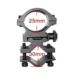 SKU562 25mm Ring scope mounts 20mm rail for flashlight Laser Torch Barrel Bracket