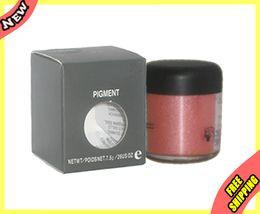 Wholesale authentic Beauty Women Pigment Matte Shimmer Shade Metallic Shadow Glitter Powder g AB33 PinkOpal New in Box Kit