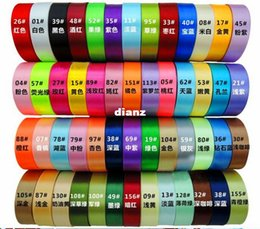 Wholesale Fashion Hot yards quot single face polyester satin ribbon mm Next cloth tape ribbons party decoration sewing supplies
