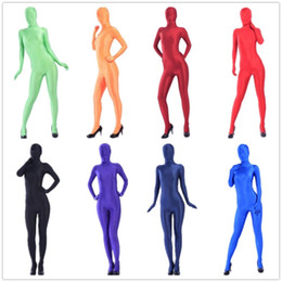 halloween costumes shiny lycra spandex tights unisex original fetish zentai suits S M L XL XXL can customize size