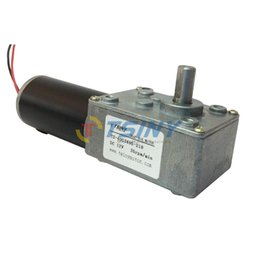 Wholesale Small High Torque V Reversible RPM PMDC Worm Gear Tooth Box Motor for diy BBQ Machine Replacement Parts
