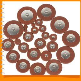 Wholesale 26Pcs mm Thickness Alto Saxophone Pads Professional Orange Leather Pads for Alto Saxophone Sax