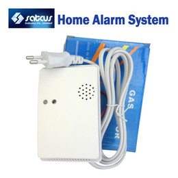 Wholesale Wireless Gas Detector Sensor Natural gas LPG Extra Accessories for Wireless GSM Alarm System