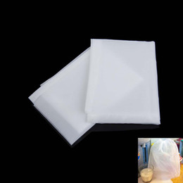 Wholesale 2pcs Micron Fruit Juice Reusable Nylon Filter Screen Net Percolator Tea Filter Bag