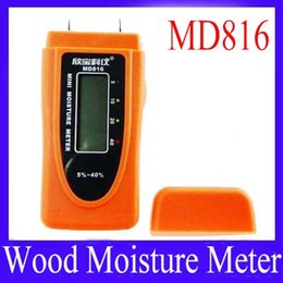 Wholesale Digital Moisture Meter Wood Firewood Damp Tester MD816 Range MOQ