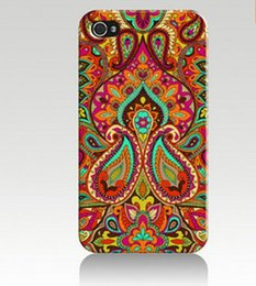 Wholesale Color African Tribes Design Hard Plastic Mobile Phone Case Cover For iPhone S S C plus