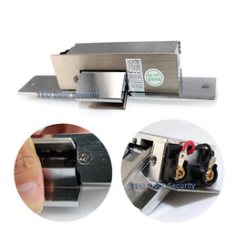 Free Shipping Fail Safe Painted Steel Glass door Electric strike lock Stainless Steel Holding on 500KG DC12V