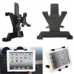 Promotion vent mount gps 2,014 Nouvelle Arrivée Haute Qualité universelle occasion Holder Car Air Vent Mount support pour iPad 3/4 Air Tablet GPS 7 à 10 pouces commander 18Personne $ piste