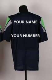 Wholesale custom American football jerseys New elite jerseySeahawks stitched High quality Mixed order size m xxxl