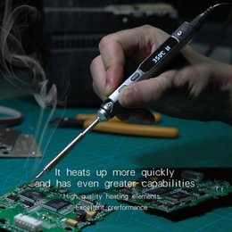 Wholesale Pen type MINI Programmable Smart Digital LCD Adjustable temperature Electric Electric soldering iron Soldering station ARM MCU